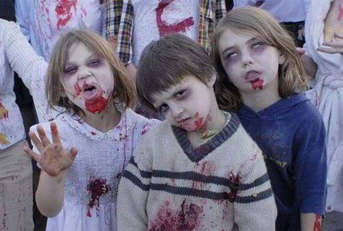 Trucco di Halloween da zombie n.05