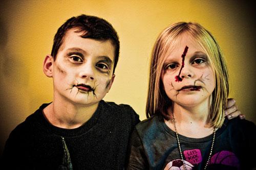 Trucco di Halloween da zombie n.07