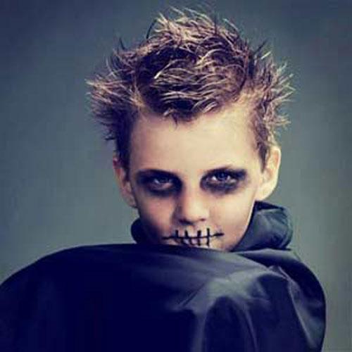 Trucco di Halloween da zombie n.08