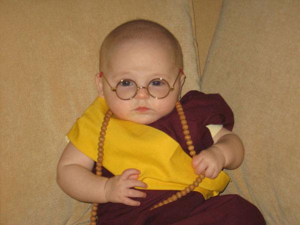 Costume di Halloween da Dalai Lama