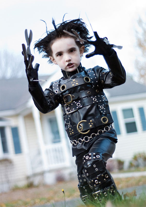 Costume di Halloween da Edward Mani Forbice