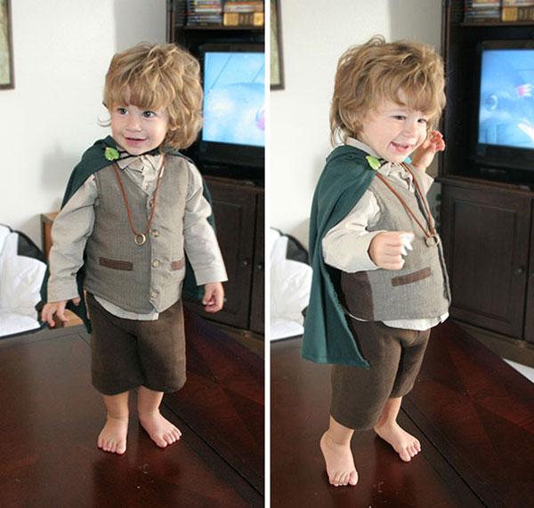 """Costume di Halloween da Frodo de """"Il Signore degli Anelli"""""""