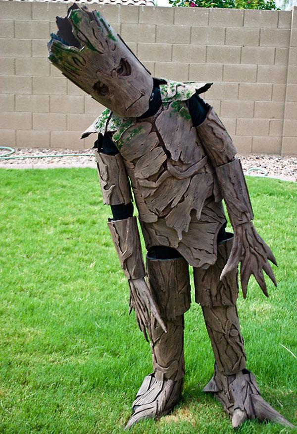 """Costume di Halloween da Groot de """"Guardiani della Galassia"""""""