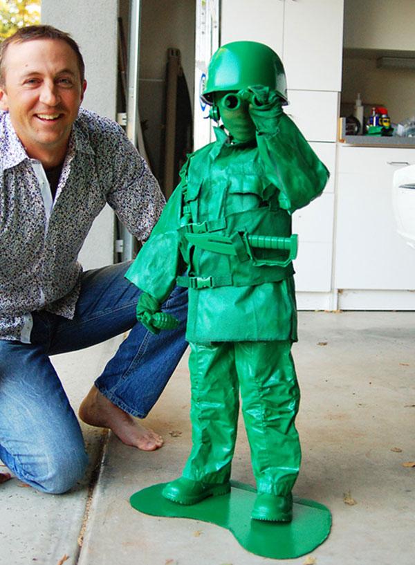 Costume di Halloween da soldatino