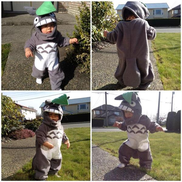 Costume di Halloween da Totoro
