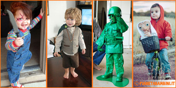 Costumi di Halloween originali per bambini