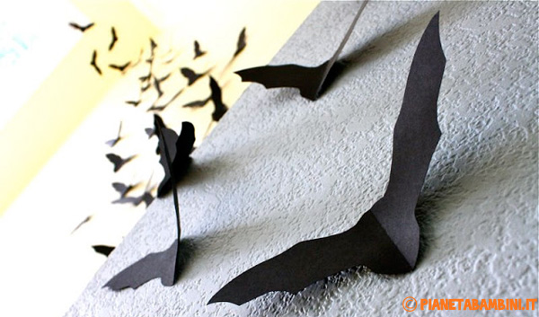 Idee per decorazioni con i pipistrelli n.2