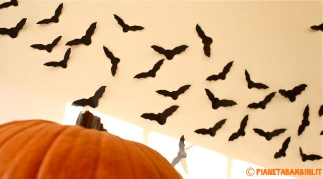 Idee per decorazioni con pipistrelli n.3
