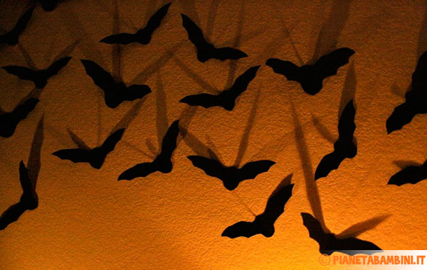Sagome di pipistrelli da stampare gratis e ritagliare