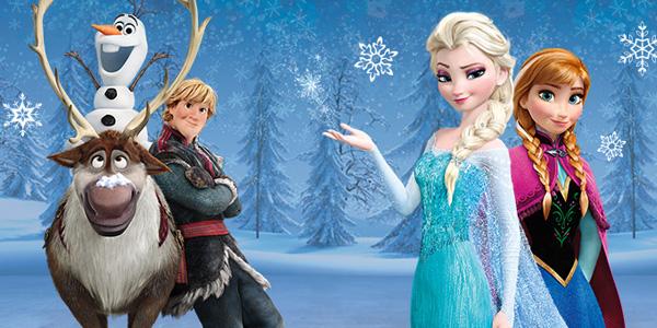 Disegni della principessa Elsa di Frozen da colorare
