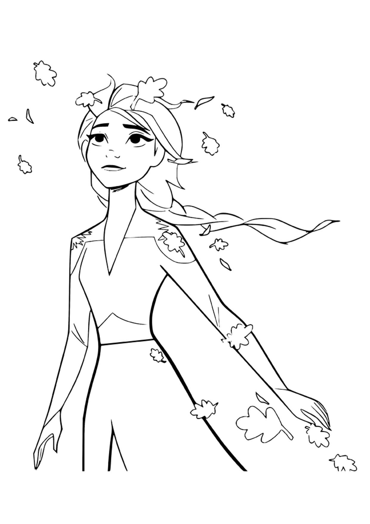 Disegno Frozen 2 da colorare 04