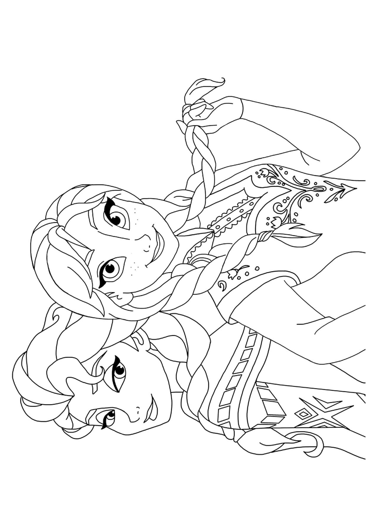Disegno Frozen 2 da colorare 05