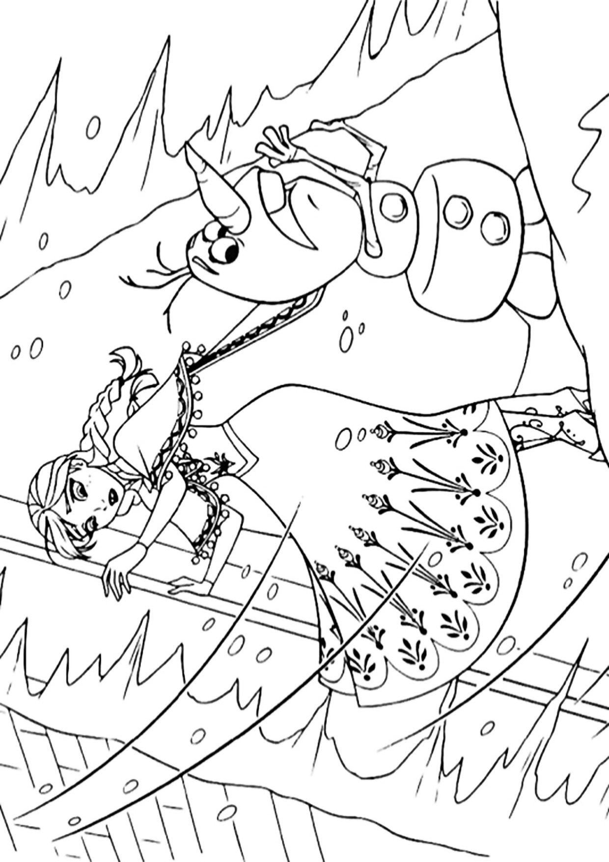 Disegno Frozen 2 da colorare 11