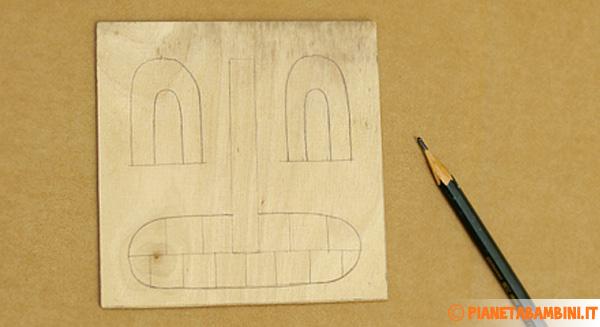 Come disegnare il mostro per l'appendino