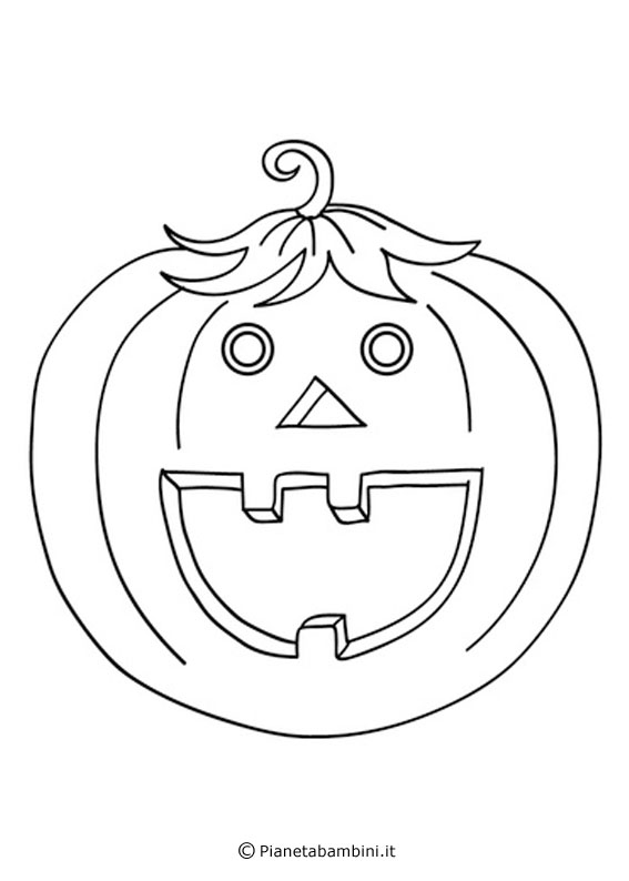 30 Disegni Di Zucche Di Halloween Da Stampare E Colorare