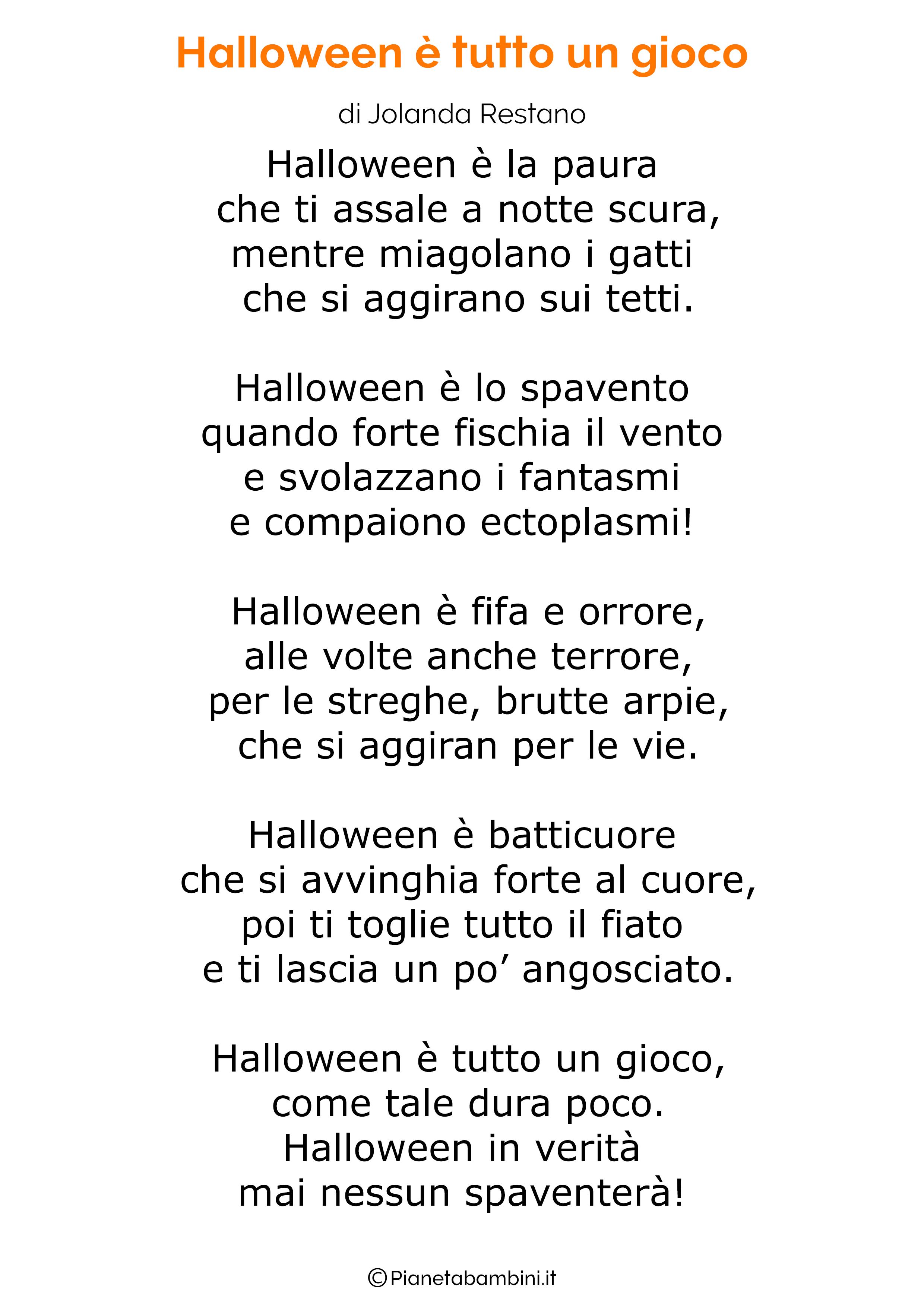 Filastrocca di Halloween per bambini 07