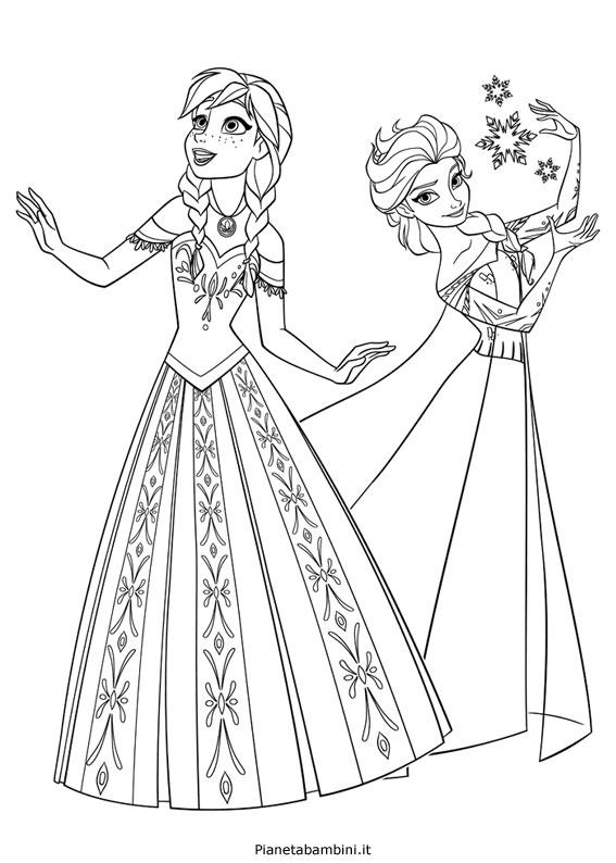 Stampaecoloraweb Disegni Da Colorare Gratis Elsa