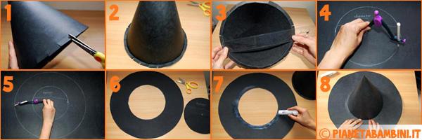 Come creare il cappello da strega
