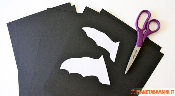 Materiale necessario per la creazione dei pipistrelli