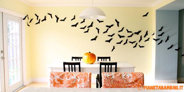 Pipistrelli da stampare e ritagliare per Halloween
