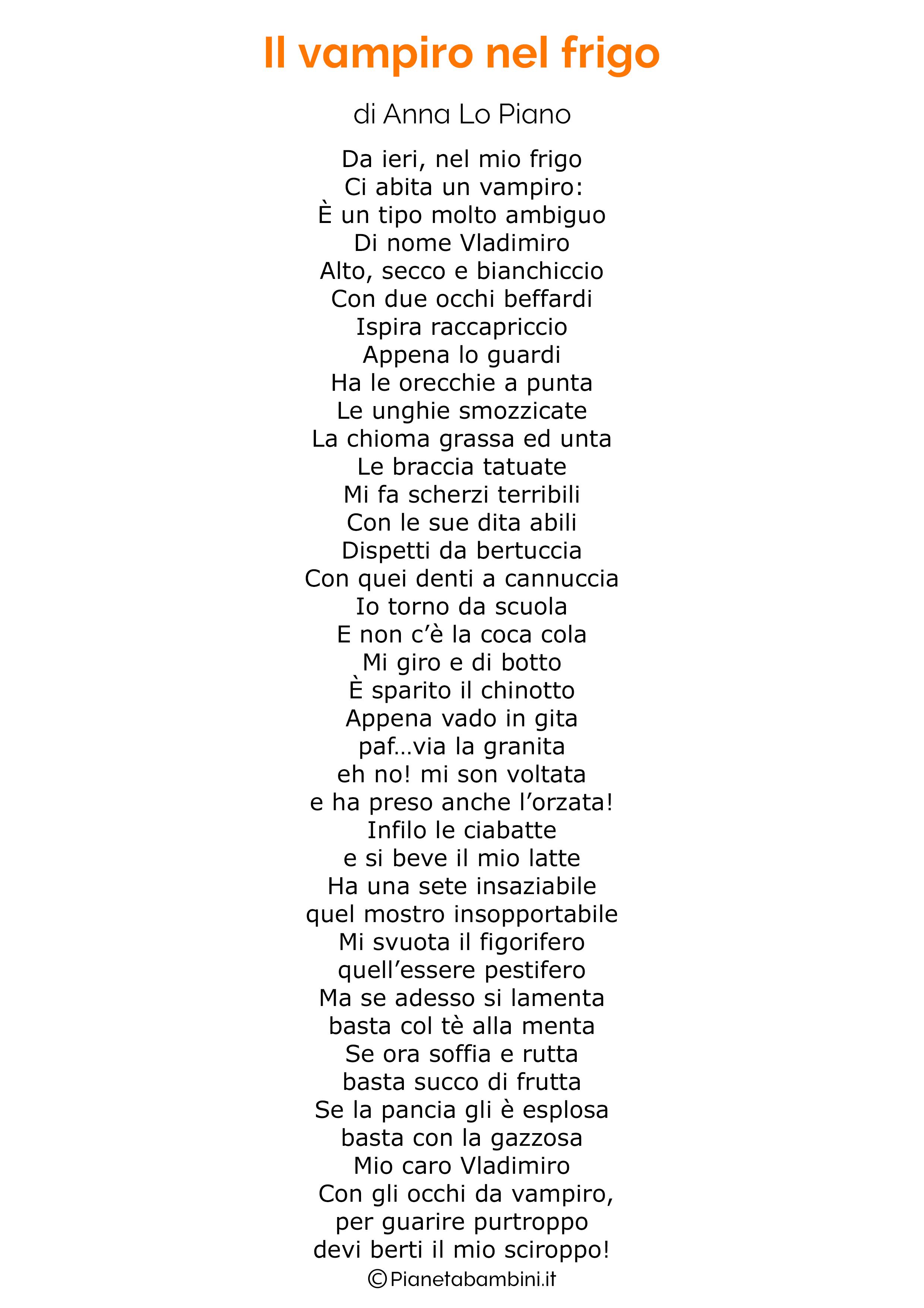 Poesia di Halloween per bambini 14