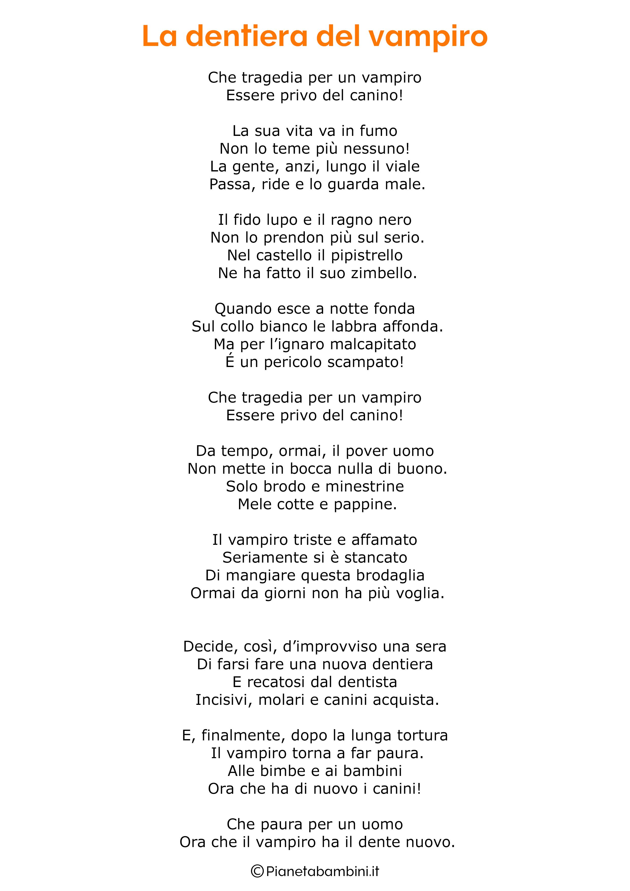Poesia di Halloween per bambini 22