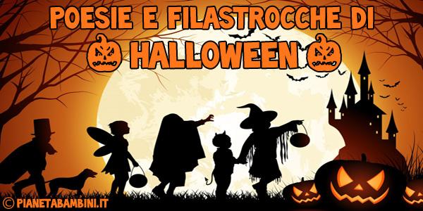 Poesie e filastrocche di Halloween in italiano da stampare gratis