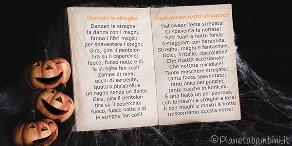 Poesie e filastrocche di Halloween da leggere e stampare