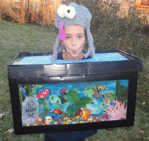 Costume di Halloween da acquario