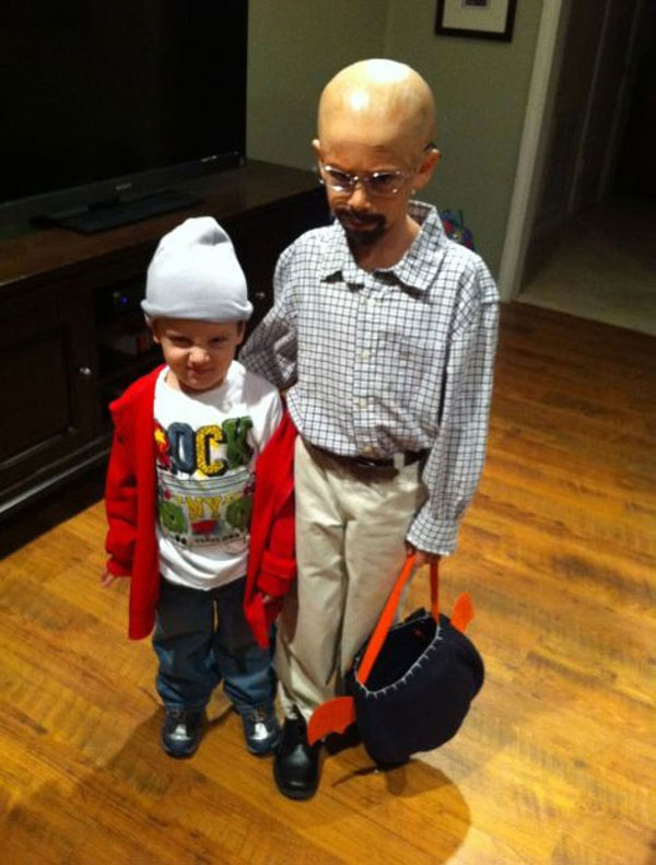Costume di Halloween ispirato a Breaking Bad