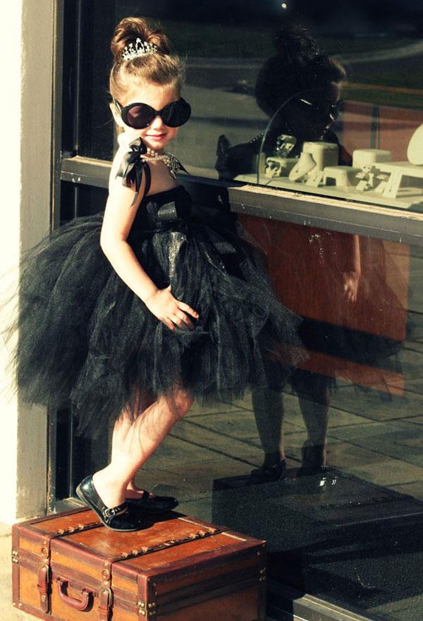 Costume di Halloween ispirato al film Colazione da Tiffany