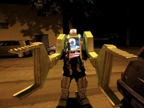 Costume di Halloween da esoscheletro di Aliens