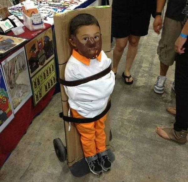 Costume di Halloween da Hannibal Lecter