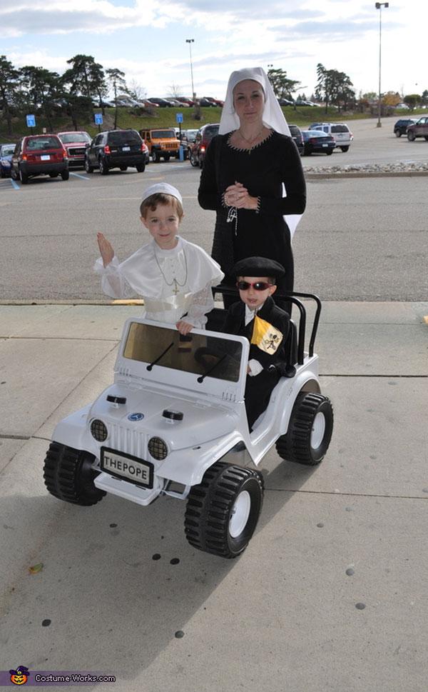 Costume di Halloween da Papa