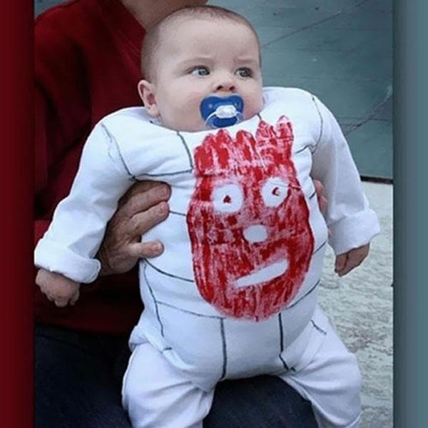 Costume di Halloween da Wilson di Cast Away