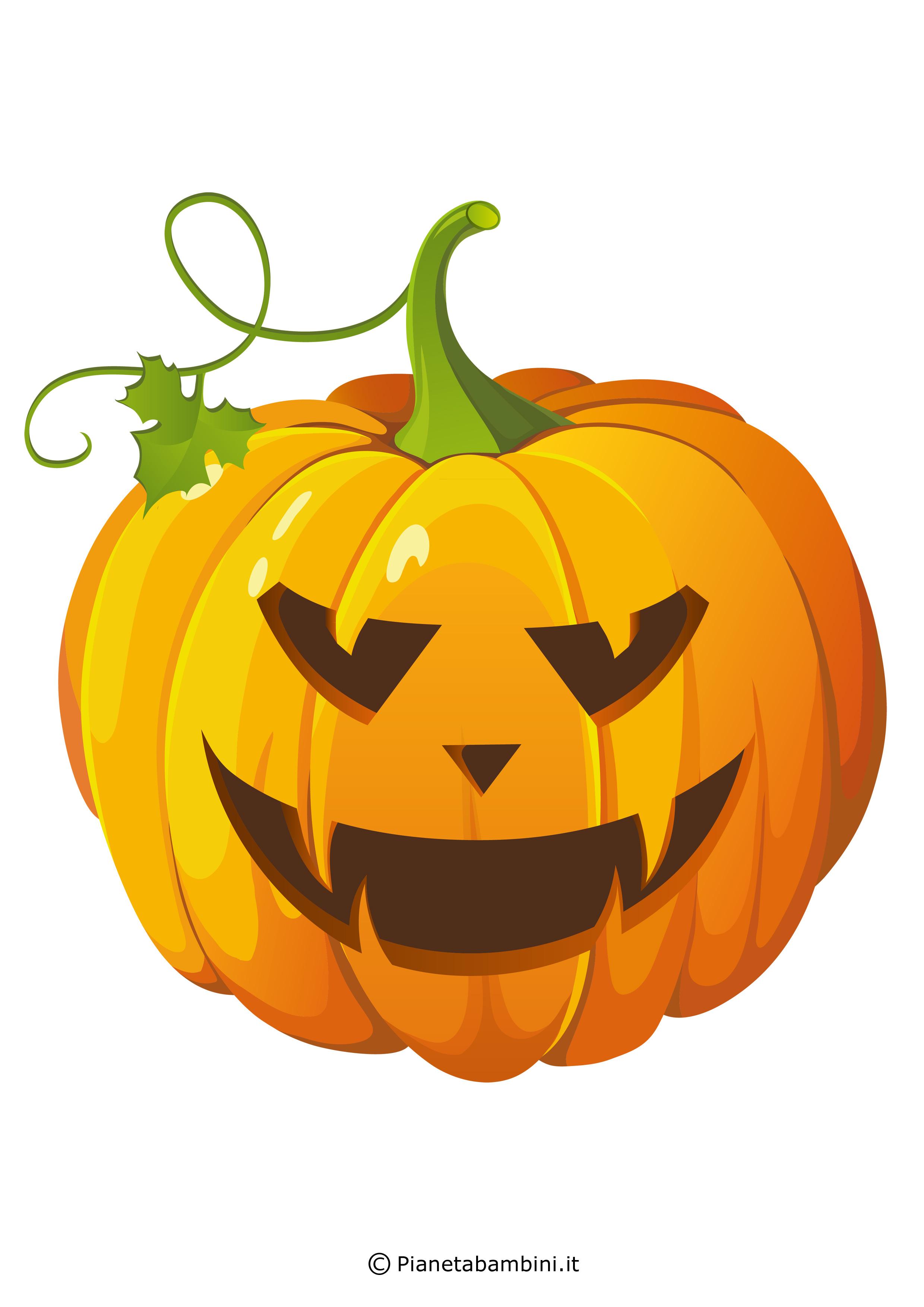 Immagini di zucche di halloween da stampare e ritagliare - Disegni di zucche ...
