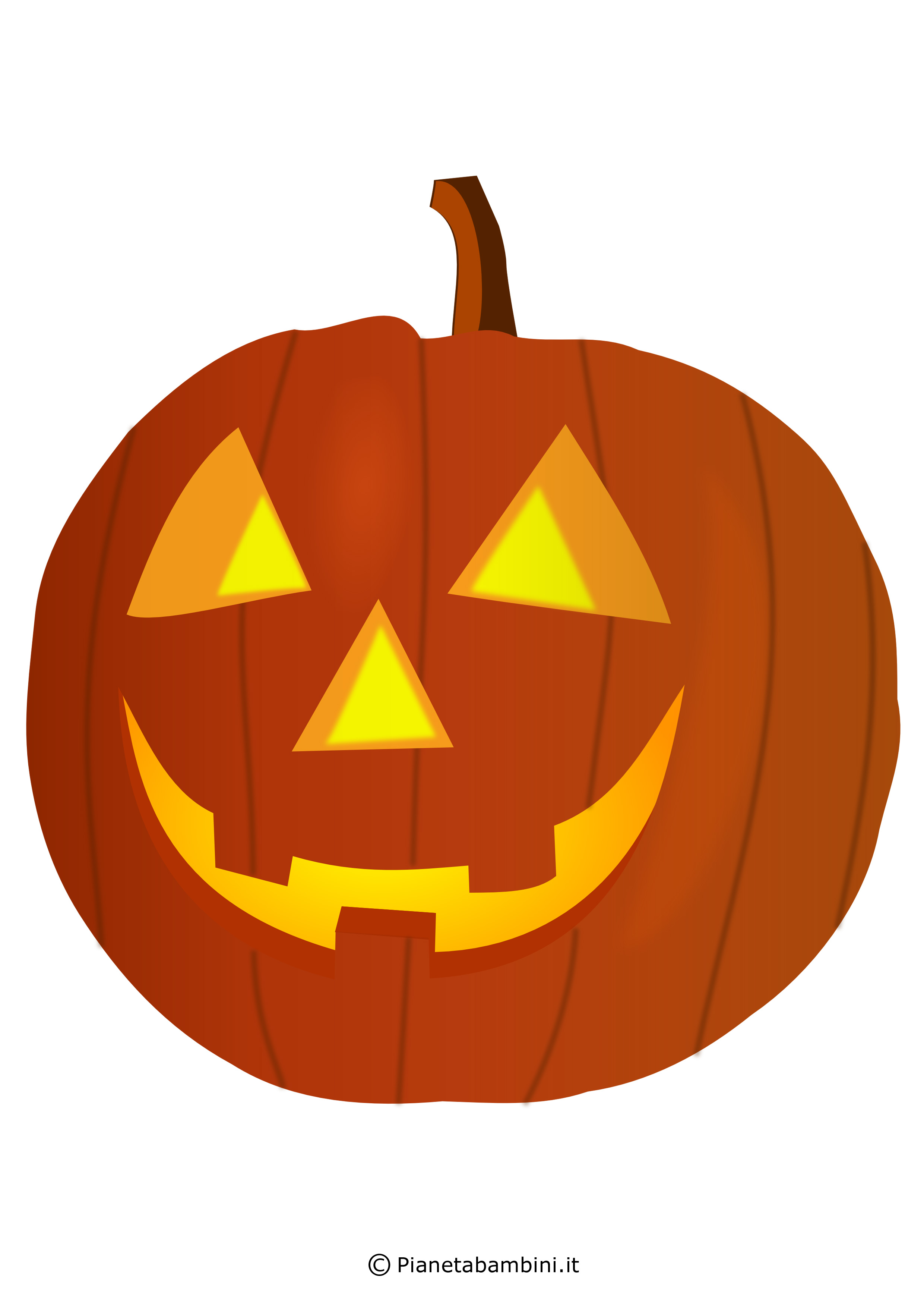 Immagini di zucche di halloween da stampare e ritagliare for Immagini zucca di halloween