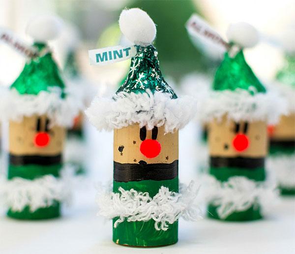 Come creare degli elfi con tappi di sughero come lavoretto di Natale
