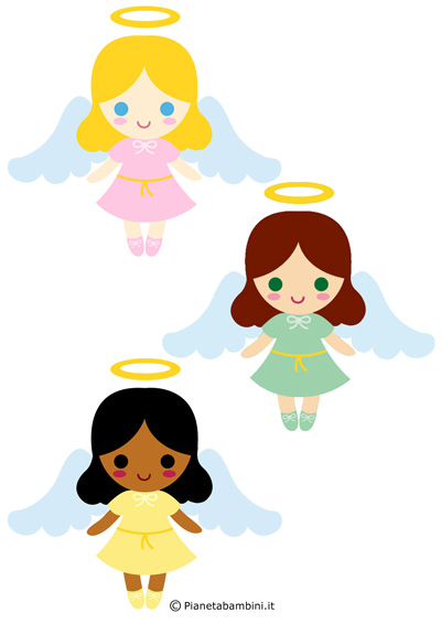 Immagini di angeli da stampare n.2