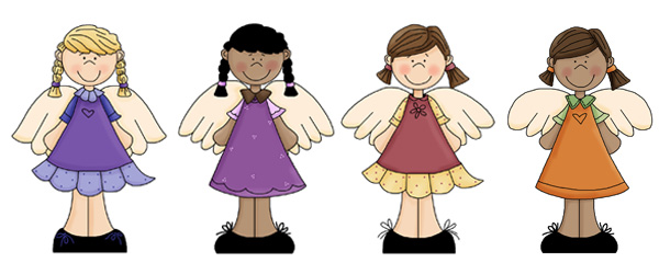 Immagini di angeli da stampare n.7