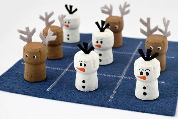Come creare i personaggi di Frozen con tappi di sughero