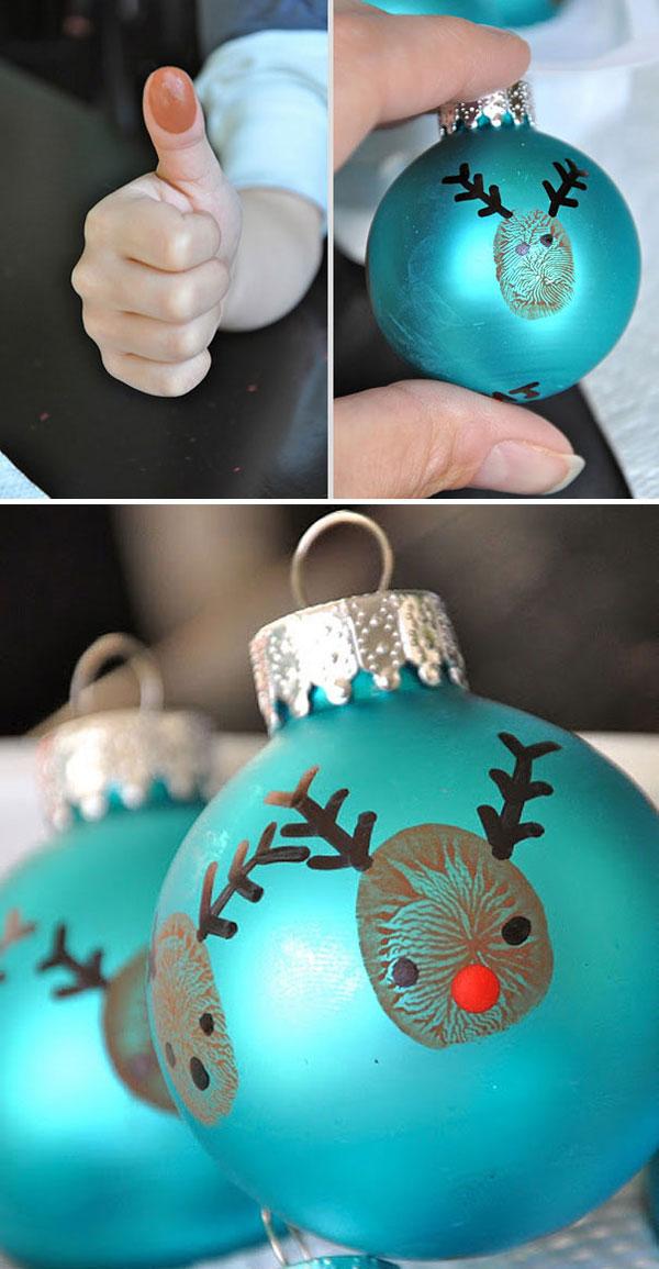 Decorazioni di Natale da realizzare su palline