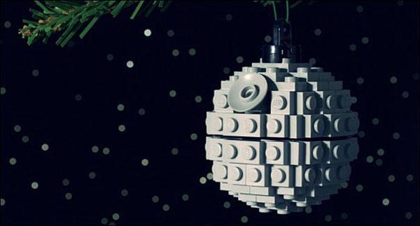 Decorazioni natalizie con i LEGO