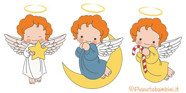 Angeli da stampare per decorazioni