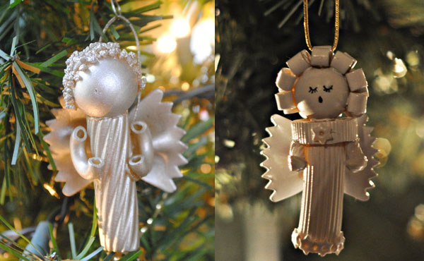 Come creare angeli con la pasta