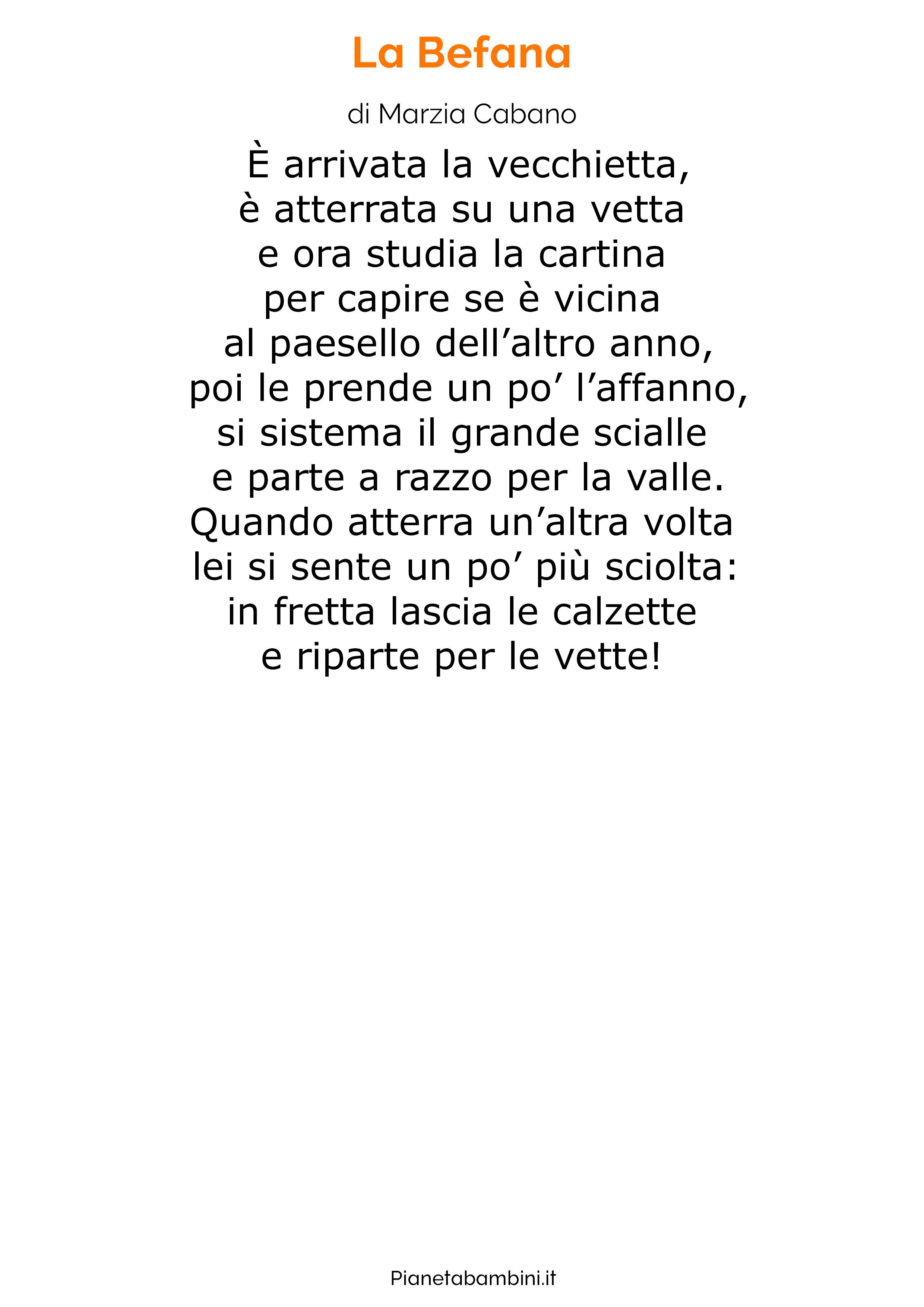Poesia sulla Befana 11