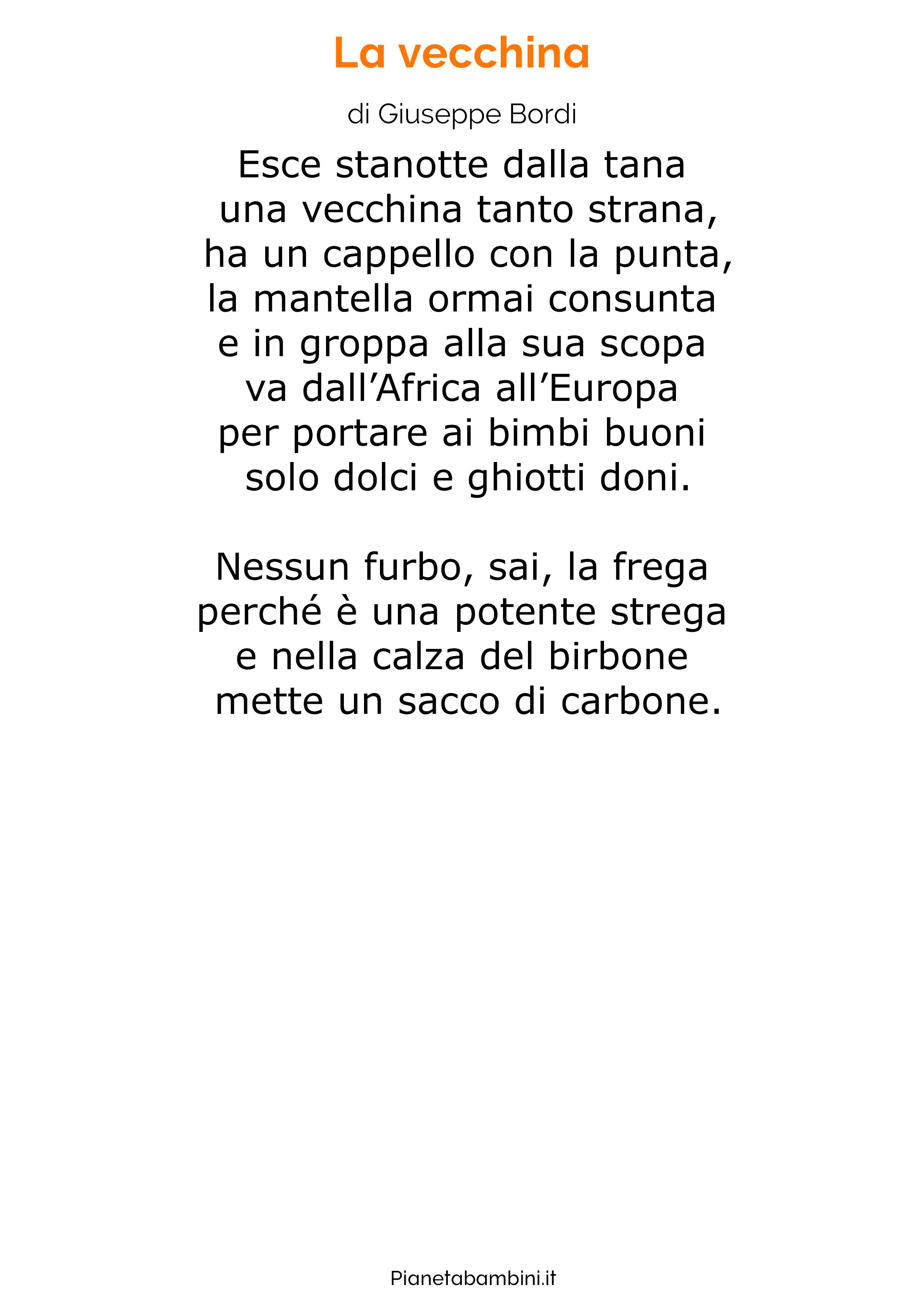 Poesia sulla Befana 15