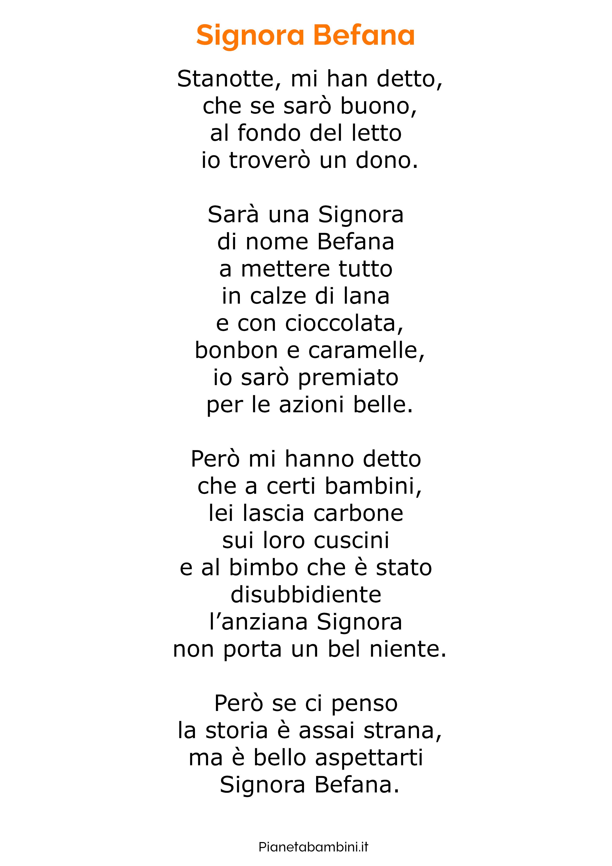 Poesia sulla Befana 16