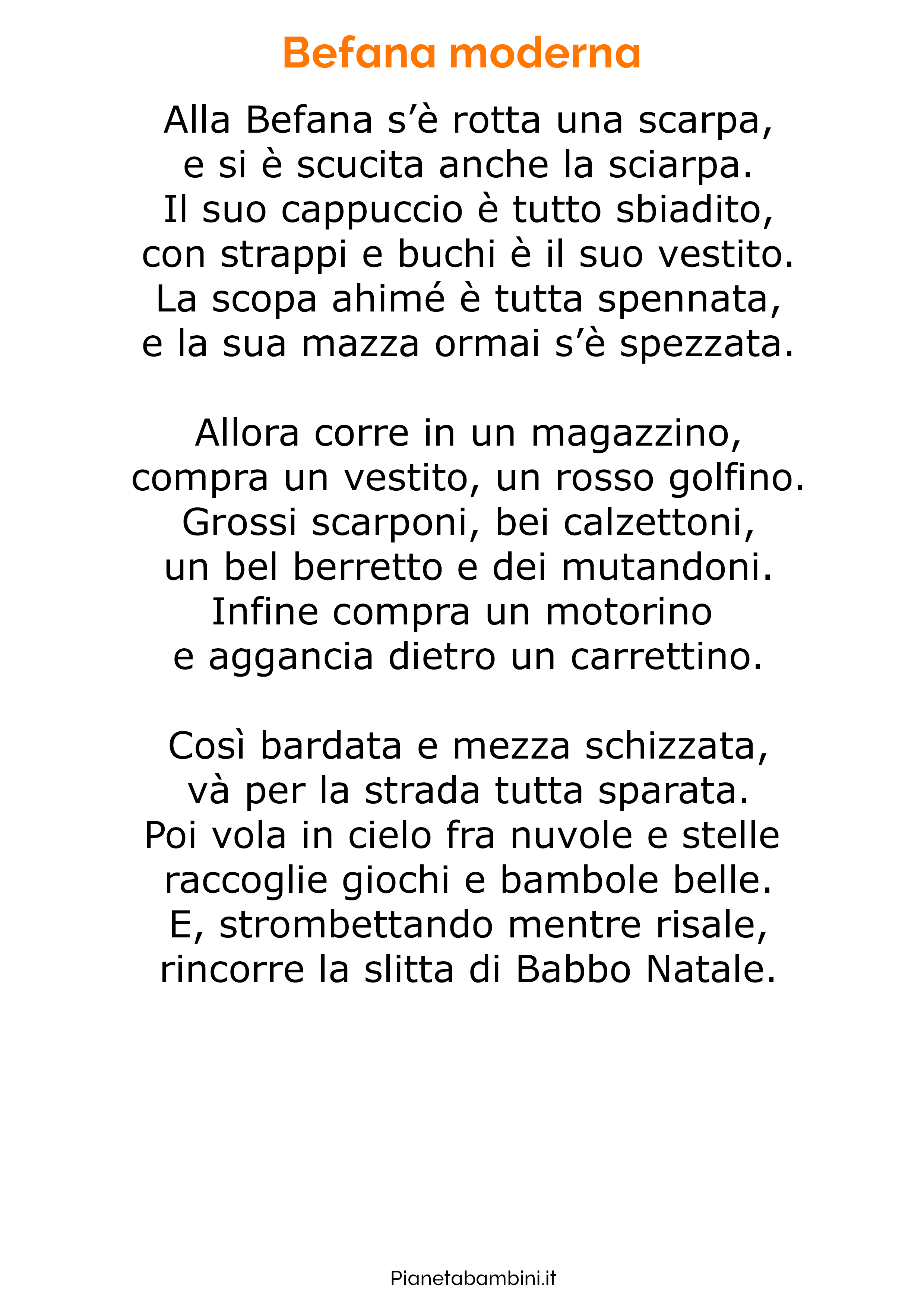 Poesia sulla Befana 18
