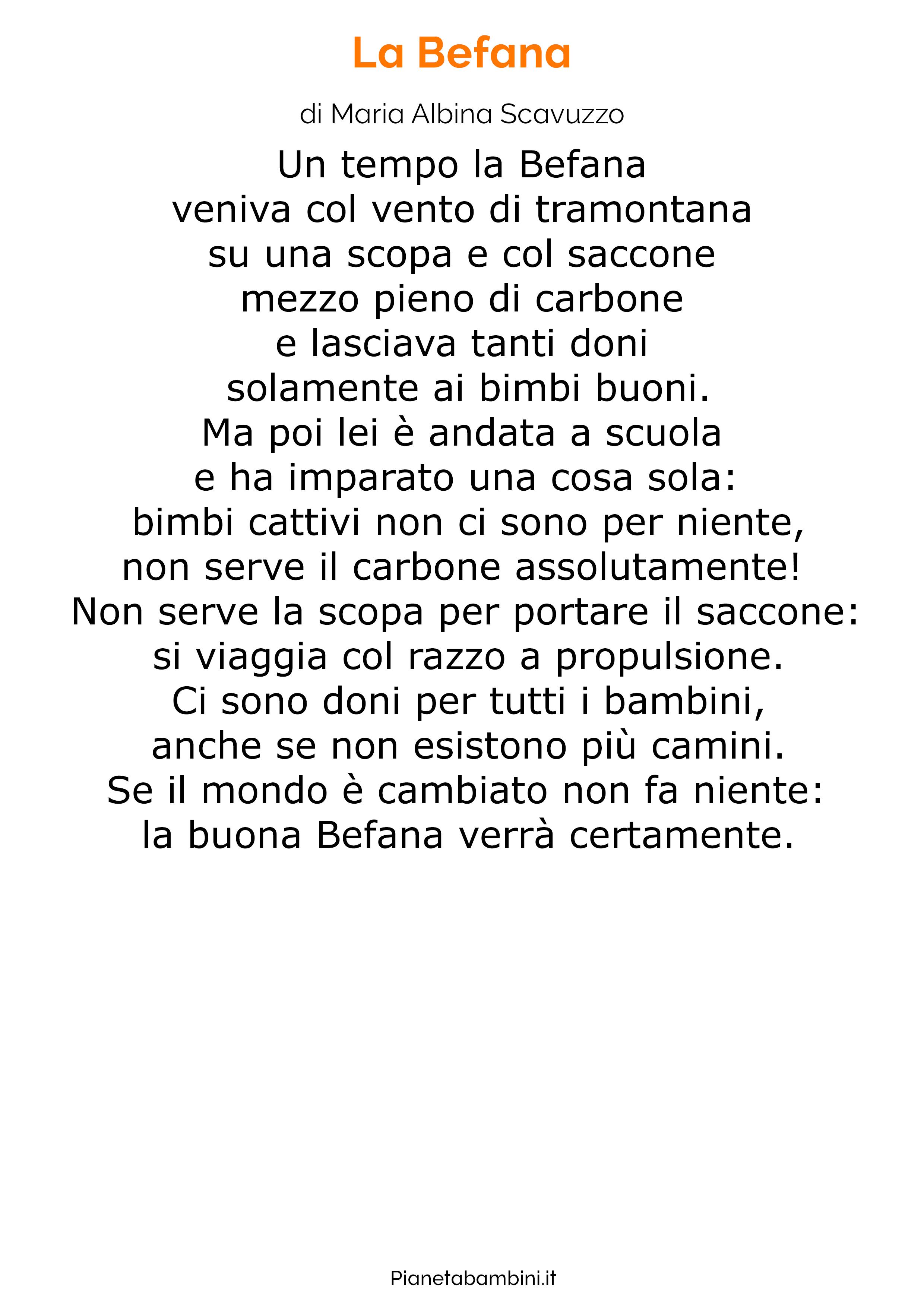 Poesia sulla Befana 20